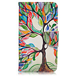 Tree of Life Pattern Card Phone Holster For Huawei Honor 5X/Ascend P9/Ascend P9 Lite