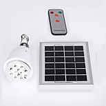 Dimmable Remote Control Solar Lamp Indoor 12 LEDs Outdoor Garden Path Yard Lamp Portable Camping Emergency Lantern