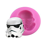DIY Star Wars Style Candy Fondant Cake Molds  For The Kitchen Baking Molds