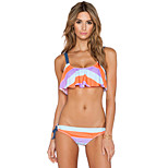 Woman Printed Two-Piece Swimsuit Sexy Bikini