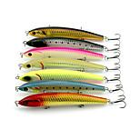 2pcs Hengjia Super Good Quality Large Pencil Baits 138mm 22.5g Fishing Lures Random Colors