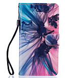 Phantom Pattern PU Leather Full Body Case with Stand for Huawei Ascend P9 Lite