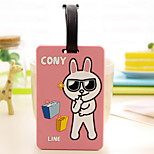 Cartoon Baggage Tag(Assorted Color 10.5 x 6.7 x 2)