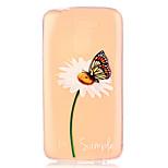 Butterfly Dandelion Pattern Embossed TPU Case for LG K7/ K10