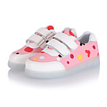 Boys' LED Shoes Outdoor / Athletic / Casual Leatherette Fashion Sneakers Blue / Pink / Gray