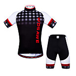 WOSAWE Summer Cycling jerseys+ shorts set 3D gel pad Quick Dry maillot ciclismo Cycling Clothing