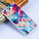 3D Relief Graphic Pattern Fashion PU Material Back Cover for OPPO R8207