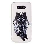 Wolf Feathers Luminous Dream Catcher Pattern Sofe TPU Case for LG G5
