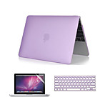 3 in 1 Crystal Clear Soft-Touch  Case with Keyboard Cover and Screen Protector  for  MacBook Pro 13