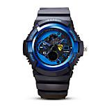 reloj deportivo Hombre Calendario / alarma / Noctilucente Cuarzo Japonés Analógico-Digital Reloj de Pulsera