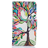 Tree Of Life Pattern Card Phone Cover For LG K7/K10