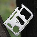SwissCard Multi-Function Rescue Creative Universal Outdoor Camping Tool Card