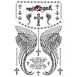 2 Tatuaggi adesivi Serie gioielli / Serie animali / Serie fiori / Serie totem / Cartoon SeriesNon Toxic / Fantasia / Taglia grande /