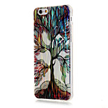Luxury Brushed TPU Colorful Tree Pattern The Drill Phone Shell Drop Resistance for iPhone 6/6S/6 Plus/6S Plus