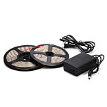 5M 60×2835SMD Red/Blue LED Waterproof Strip Light and 12V Power Supply
