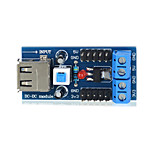 TS-35 USB Power Supply Voltage Regulator Module - Blue Suitable for Arduino Scientific Research