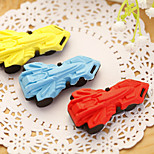 1PC  Creative Automobile Modeling Cartoon Gift Rubber Eraser For Children(Style Random)