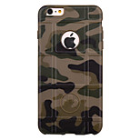 Camouflage Grid TPU Phone Case for iPhone 6/6S/6 Plus/6S Plus