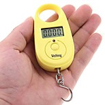 5g-25kg Mini Digital Hanging Luggage Fishing Weighing Scale (Random color)