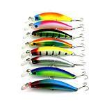 New Minnow 8pcs Hengjia Minnow Baits 95mm 9g Fishing Lures Random Colors
