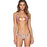Printed Two-Piece Swimsuit Sexy Bikini