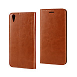 Business Wallet Holster Leather Oil Side  for Oppo R9  (Assorted Colors)