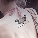 Fashion Temporary Tattoos Sexy Body Art Waterproof Tattoo Stickers Butterfly 5PCS