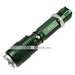 Lampes Torches LED LED 5 Mode 1200lm Lumens Faisceau Ajustable / Surface antidérapante / diri / Fonction Zoom Cree XM-L2 18650 / AAA