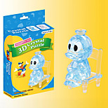 3D Crystal Donald Duck Blocks Puzzle Diy Creative Educational Toys Small Children Toys