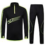 Hauts/Tops / Ensemble de Vêtements/Tenus / Survêtement(Noir) deFitness / Sport de détente / Football / Course-Respirable / Haute