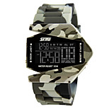 Unisex  Watch/ Chronograph  /Calendar/ Alarm  /Noctilucent/ Digital Wrist watch
