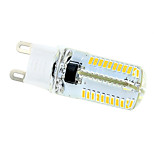 4W G9 Ampoules Maïs LED T 80 SMD 3014 320-360 lm Blanc Chaud / Blanc Froid AC 100-240 V 1 pièce