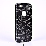 2 in 1 Silicone Embossed Cartoon Tide Coloured Drawing or Pattern for Iphone5/5s/SE Smart Cover