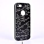 2 en 1 de silicona en relieve dibujos animados de color marea dibujo o patrón para iPhone5 / 5s / cubierta inteligente se