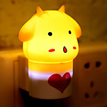 Creative Warm White Sheep Light Sensor Sound Induction Relating to Baby Sleep Night Light(Assorted Color)