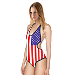 Women Slim Body Sexy Cross Straps  Piece Swimsuit