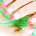 Ekbas Red and Pink Color Gradient Nail Glue 16ML Nail Polish