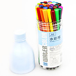 Plastic Cute Water Color Pens(36pcs)