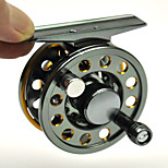 NEW Space Aluminum Fly Fishing Reel 2+1BB Metal Drag Ice Fishing Fly Wheel