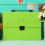 Multifunction Portable Files Folders & Filing for Office Random Colors