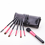 7 Makeup Brushes Set / Eyeshadow Brush / Lip Brush / Eyelash Comb (Flat) / Powder Brush / Foundation Brush