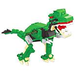 dr wan, le byggeklosser dinosauregg vridd egg for å holde pedagogiske leker for barn 6802 tyrannosaurus rex