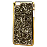 Gravel Phone Shell Flash Diamond Metal for iPhone 6/6S/6 Plus/6S Plus