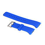 Rubber Silicon Wrist Strap Replacement Watch Band for Samsung Gear S2 Watch R720 (Large12.8cm+7.2cm)
