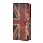 UK Flag Magnetic PU Leather wallet Flip Stand Case cover for Wiko Lenny 3
