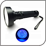 100 LED UV Flashlights/Torch 395-410nm Wavelength/Counterfeit Detector/Ultraviolet Light/Scorpion Detector/AA Battery
