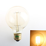 Zweihnder W411 E27 40W 550LM 3000-3500K G80 Warm Light Tungsten Filament lamp (AC 220-240V)