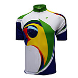 Getmoving Bike/Cycling Jersey / Tops Women's Short Sleeve Breathable / Ultraviolet Resistant / Quick DryPolyester / 100% Polyester /