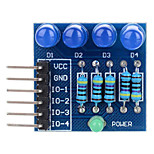 4P LED Diode Blue Light PWM Dimming Module Suitable for Arduino Scientific Research