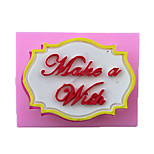 Wish Style Candy Fondant Cake Molds  For The Kitchen Baking Molds